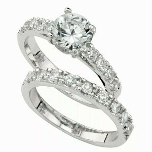 Charter Club Ring Set, Cubic Zirconia Engagement